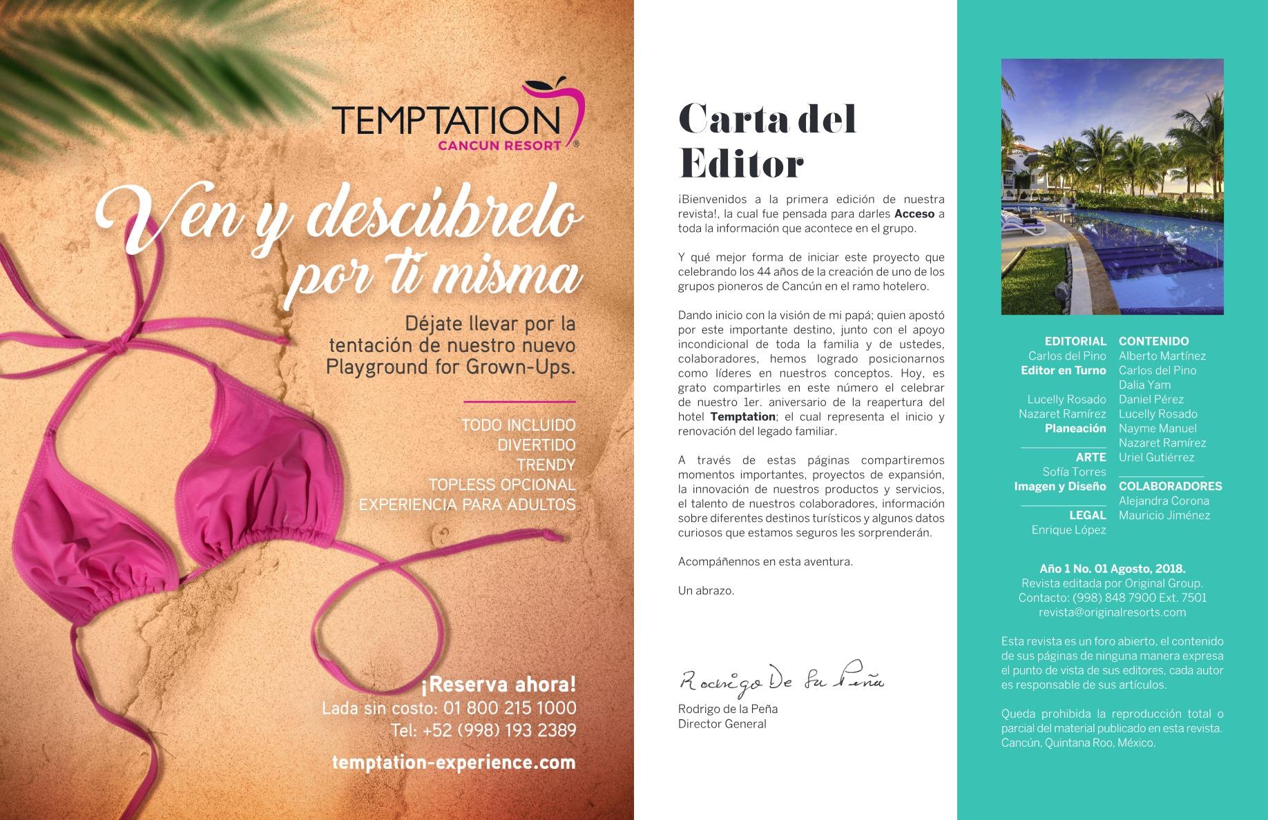 Revista Acceso| No  1 | Original Group
